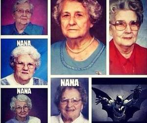 batman, Nana, and funny image