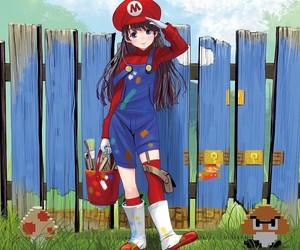 anime, cute, and game image