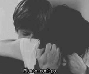 love, sad, and don't go image