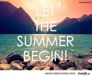 summer and begin image