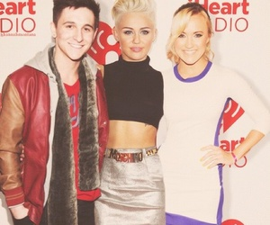 miley cyrus, emily osment, and hannah montana image