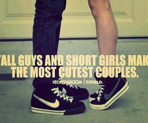 cute, couple, and quote image