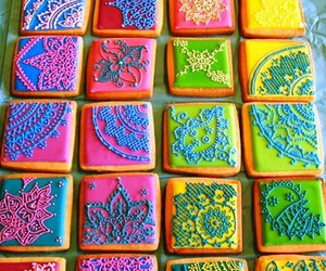 Cookies, colorful, and food image