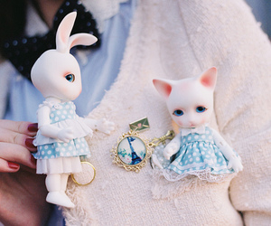 bjd, cat, and cute image