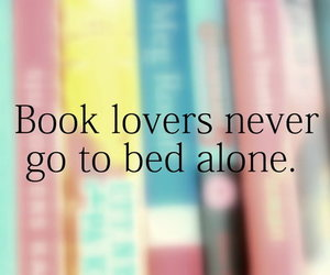 book, alone, and bed image