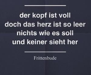 deutsch, quote, and frittenbude image