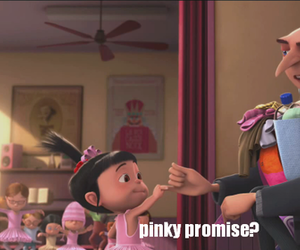 promise, despicable me, and pinky promise image
