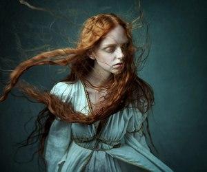 lovely, redhead, and olga moskvina image