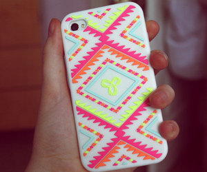 iphone, case, and neon image