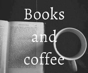 books, coffe, and vintage image