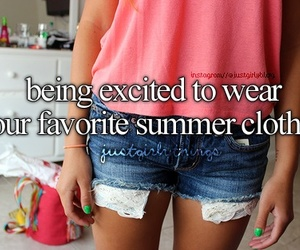 summer, clothes, and excited image