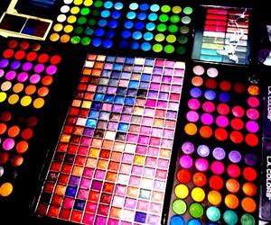 makeup, make up, and colors image