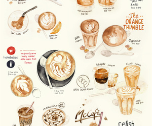 coffee and illustration image