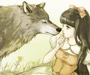 fairytale and wolf image