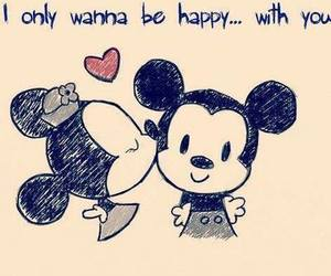disney, heart, and mickey mouse image