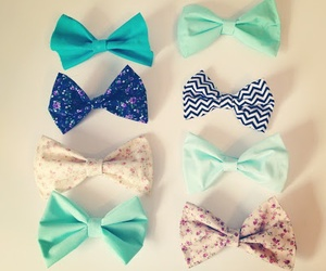 bows and pretty image