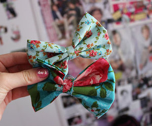 bow, tumblr, and girly image