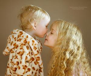 children, love, and sun image