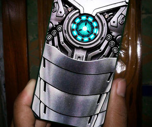 iphone, iron man, and iphone case image