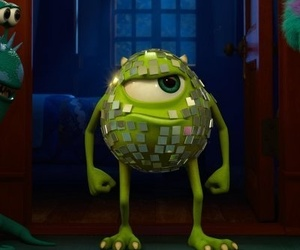 mike, monsters inc, and cute image