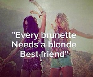 blonde, true, and friends image