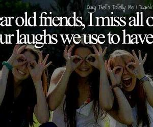 friends, laugh, and miss image