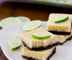 cream cheese, lime, and bars image