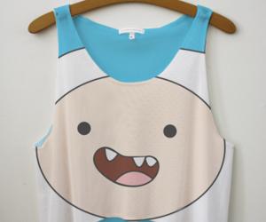 cartoon, summer, and t-shirt image