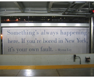 new york, quotes, and text image