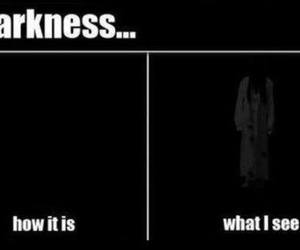 Darkness, funny, and dark image