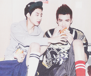 kris and chanyeol image