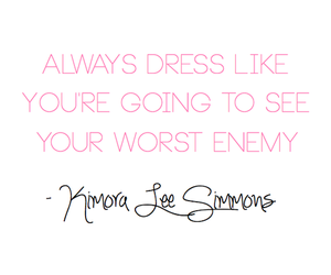 quote, fashion, and enemy image