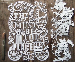 Paper, art, and typography image