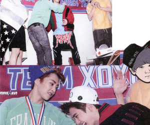 do, sehun, and xiumin image