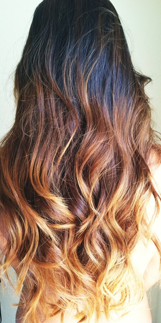 Dark Brown Ombre Hair Shared By Foreverfalling