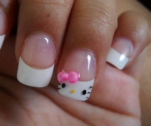 adorable, girly, and nail image