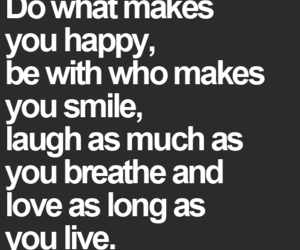 breathe, laugh, and quote image