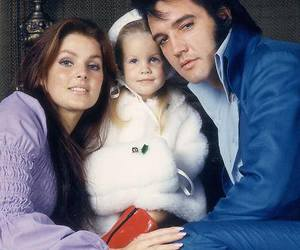 70s, Elvis Presley, and family image