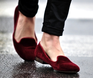 shoes, red, and style image