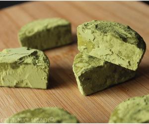 Matcha, white chocolate, and truffles image