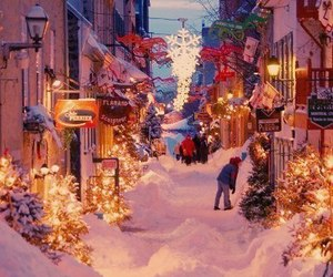 winter, new year, and snow image