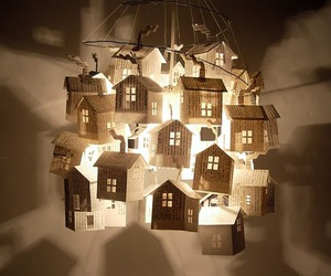 light, house, and Paper image