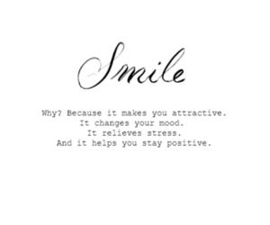quote, smile, and cute image