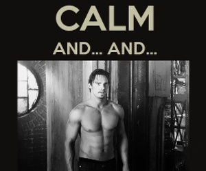 beauty and the beast, Jay Ryan, and keep calm image