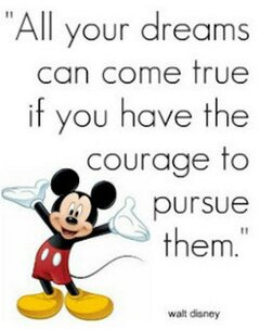 Mickey Mouse quotes shared by Happygolucky on We Heart It