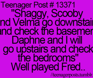 Fred, scooby doo, and daphne image