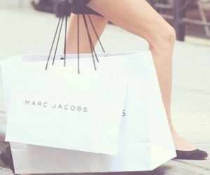 marc jacobs, fashion, and shopping image
