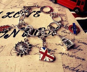 london, bracelet, and england image