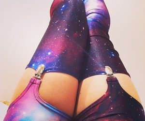 fashion, galaxy, and legs image