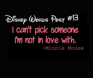 disney, minnie mouse, and quotes image